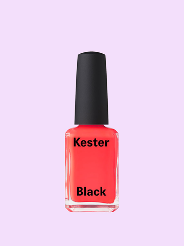 Cruelty Free Nail Polish Coral(Neon Orange Pink)