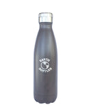 Insulated Water Bottle 500ml Dark Ebony Faux Wood