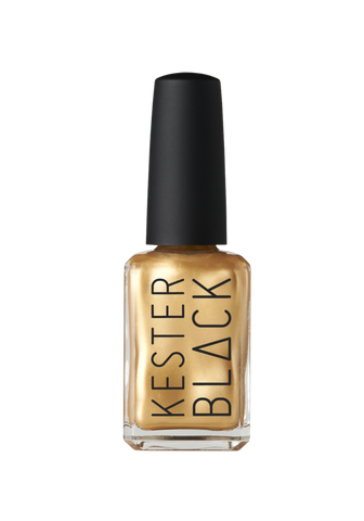 Cruelty Free Nail Polish FrizzyLogic (Antique Gold)