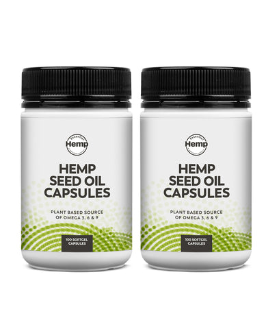 Organic Hemp Seed Oil Duo (200_Capsules)