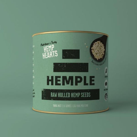Hemple Hearts Raw Hulled Hemp Seeds