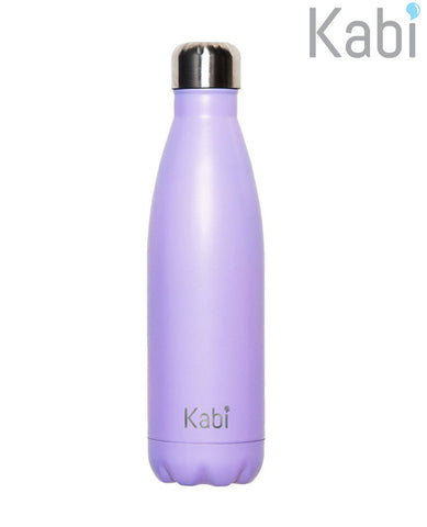 Insulated 500ml Drink Bottle Lavender Kabi