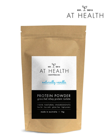 Natural Whey Protein (Naturally Vanilla 1kg)