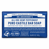 Pure-Castile Hemp Bar Soap Peppermint x 2