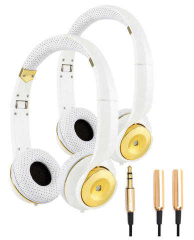 Platinum Lifestyle Pack Headphones (x2) & Splitter