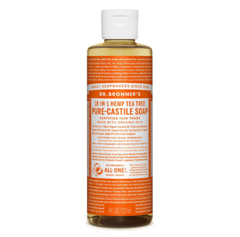 Pure-Castile Liquid Soap Tea Tree 237ml