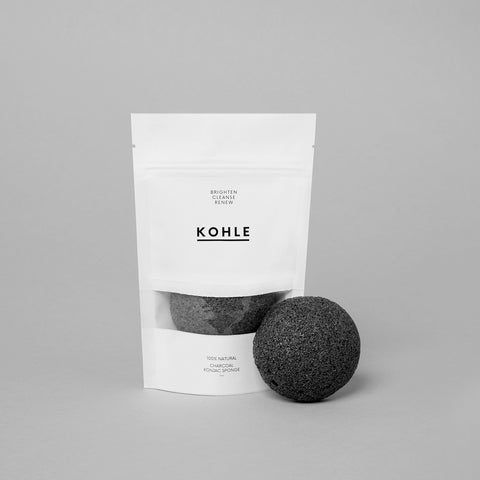 Charcoal Infused Konjac Cleansing Sponge