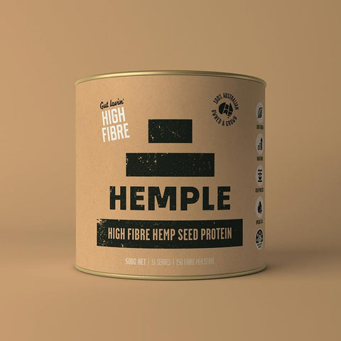 Hemple High Fibre Hemp Seed Protein