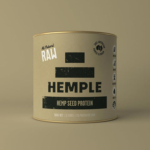 Hemple Raw Hemp Seed 50%_Protein