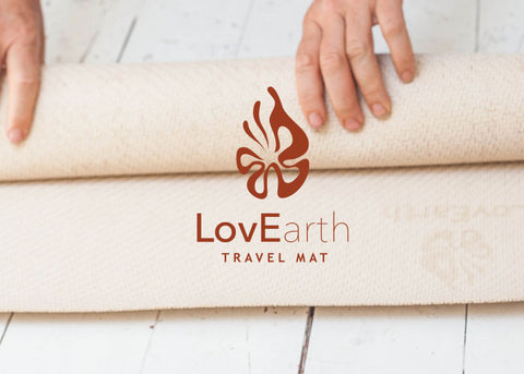Natural Tree Rubber Eco Travel Yoga Mat