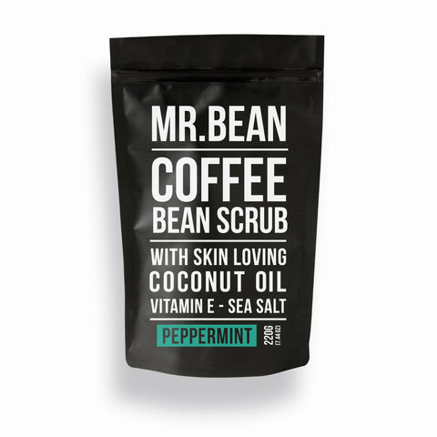Bean Body Coffee Bean Scrub Peppermint 220g