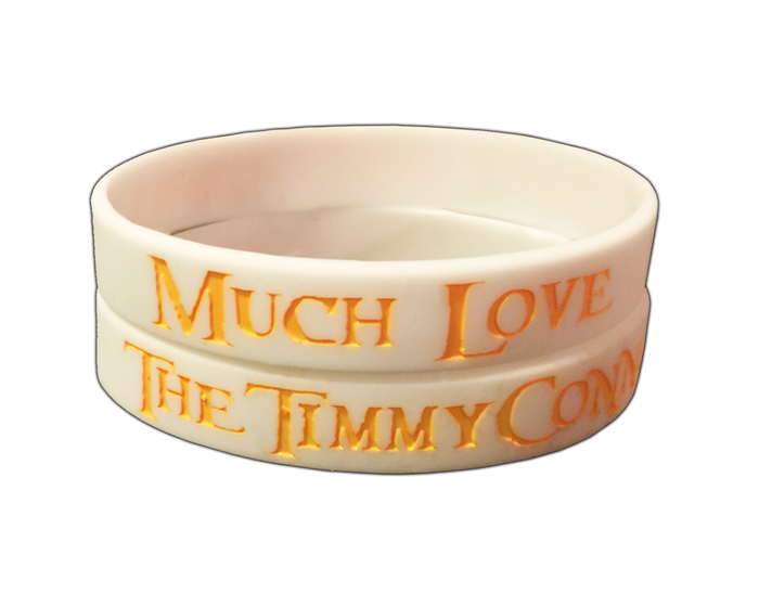 "The Timmy Connors ""Much Love"" Wristband"