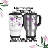 Beyoutiful Mug, Cosmetology Gift, Be Yourself, Gift For Her, Positive Affirmation, Water Bottle, Travel Mug, Coffee Mug