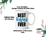 Best Boyfriend Ever, Boyfriend Coffee Mug, Water Bottle, Travel Mug, Christmas Gifts, Gifts For Him, Anniversary Gift, Bae Gift