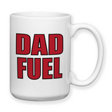 Dad Fuel 002, Mug, Coffee Mug, Water Bottle, Travel Mug, Christmas Gifts, Dad Cup, Birthday For Dad, Fathers Day Gift