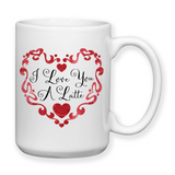 I Love You A Latte, Valentine Gifts, Coffee Mug, Water Bottle, Travel Mug, Christmas Gifts, Gifts For Her, Anniversary Gift, Mothers Day, Wife Gift