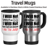 Judge, Coffee Mug, Water Bottle, Travel Mug, Christmas Gifts, Birthday Gifts, Funny Judge Gift, JudgeCup