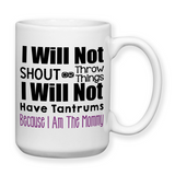 I Am The Mommy, Coffee Mug, Water Bottle, Travel Mug, Christmas Gifts, Birthday Gifts, Funny Mom Gift, Mothers Day