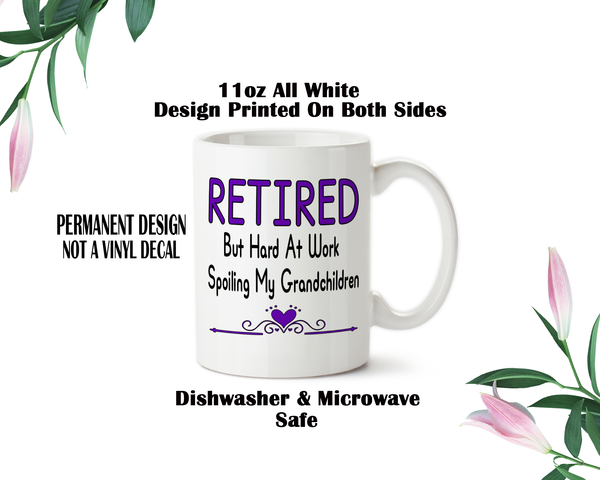Grandma Water Bottle, Retired Bottle, Retired Mom Gift, Mom Grandma Gift, Custom Drinkware