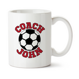 Personalized Soccer Coach Coffee Mug, Water Bottle, Travel Mug, Christmas Gifts, Birthday Gifts, Thanks Coach, Coach Gift