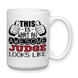 Coffee Mug, Water Bottle, Travel Mug, Christmas Gifts, Birthday Gifts, Funny Judge Gift, Judge Cup