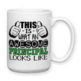 This Is What An Awesome Principal Looks Like, Coffee Mug, Water Bottle, Travel Mug, Christmas Gifts, Gifts For Principal