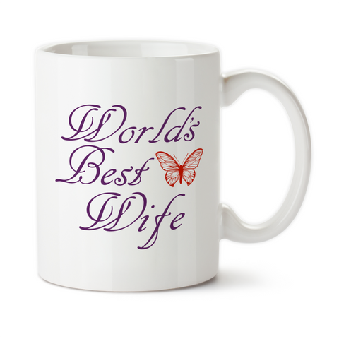 World's Best Wife, Coffee Mug, Water Bottle, Travel Mug, Christmas Gifts, Gifts For Her, Anniversary Gift, Mothers Day, Wife Gift