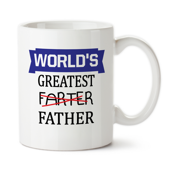 World's Greatest Farter, Fathers Day Gifts, Water Bottle, Coffee Mug, Travel Mug, Birthday For Dad, Best Father Ever