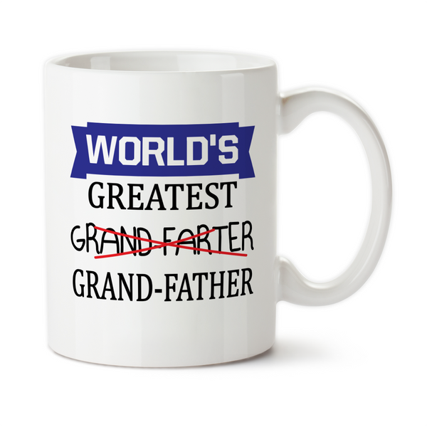 World's Greatest Grand Farter, Fathers Day Gifts, Water Bottle, Coffee Mug, Travel Mug, Birthday For Grandpa, Best Grandpa Ever