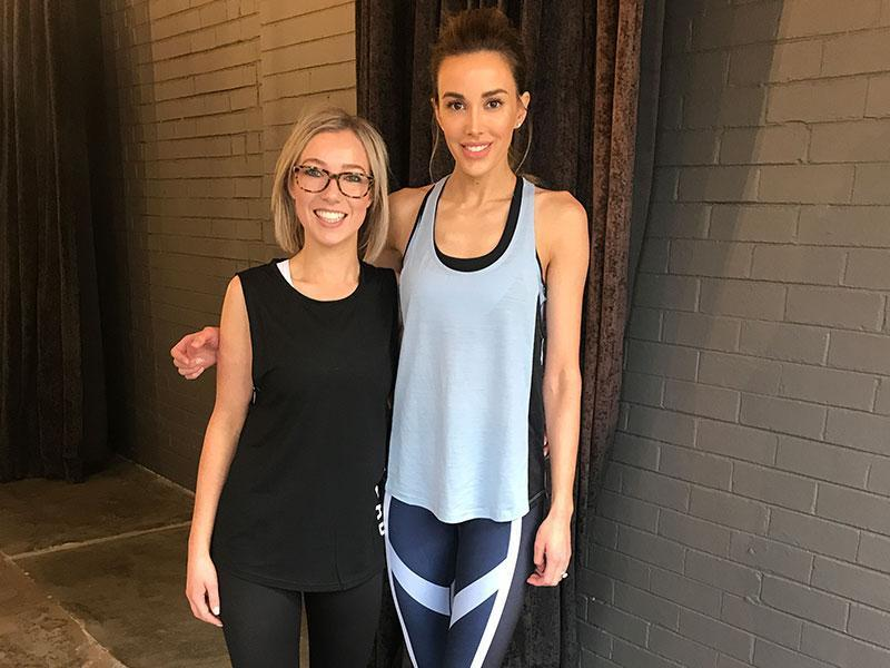 Spotlight on One Hot Yoga instructors – Yogi: Zoe and Pilates instructor: Maddie