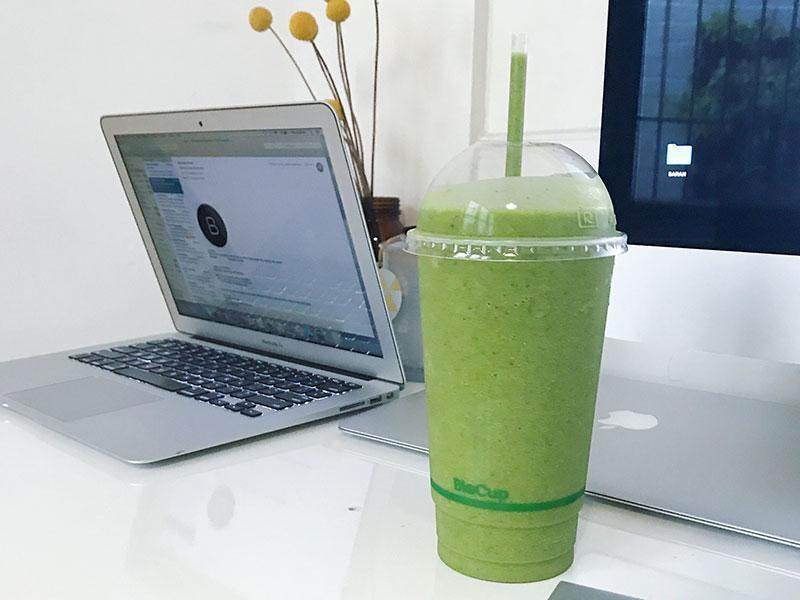 In the Kitchen with... Marika Day: Post workout Green Smoothie