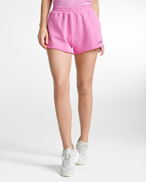 Fleece Shorts Fuchsia Pink