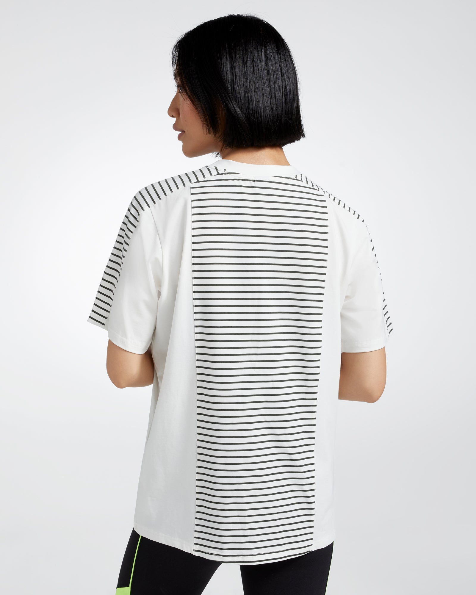 HARLYN BOXY PANELLED MODAL TEE