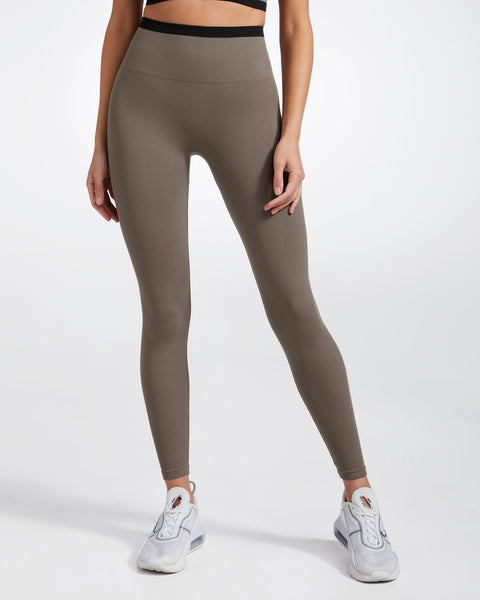 PORTLAND FULL LENGTH SEAMLESS LEGGING MOCHA