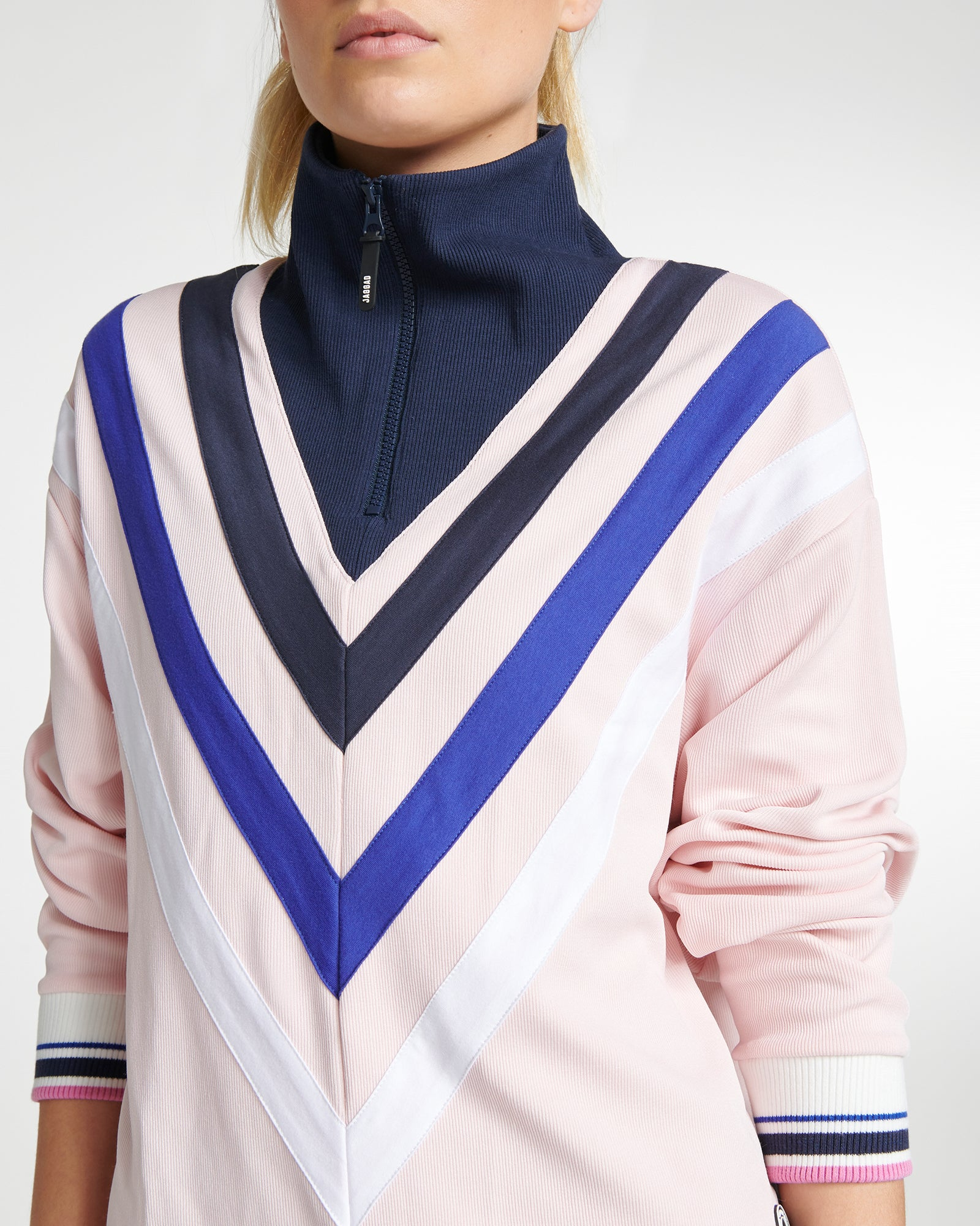 Vista Del Mar Zip-Neck Sweater