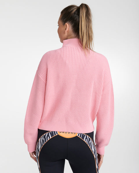 MONTEREY ZIP-UP KNIT SWEATER