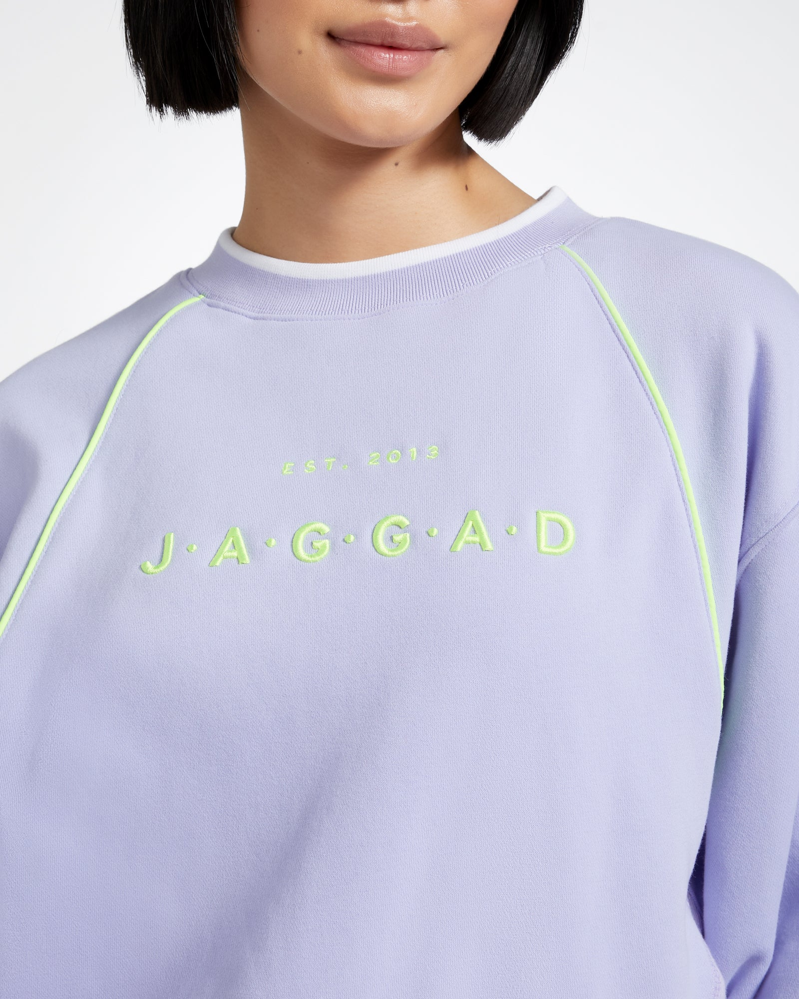 HARLYN CROP OVERSIZED SWEATER