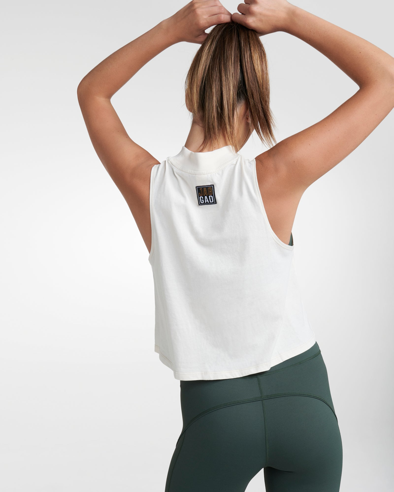NAGARA ORGANIC COTTON CROP MUSCLE TANK