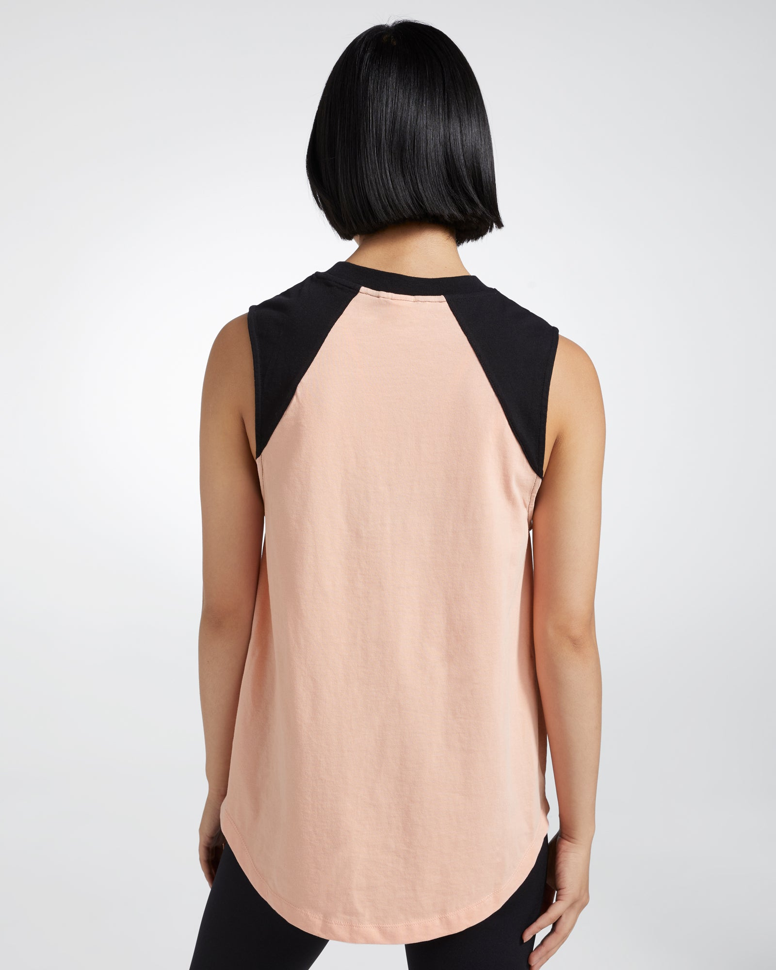 CALEDONIA REFLECT RAGLAN ORGANIC COTTON TANK