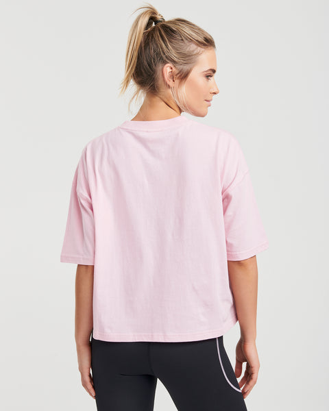 Pink Panama Organic Cotton Crop Tee