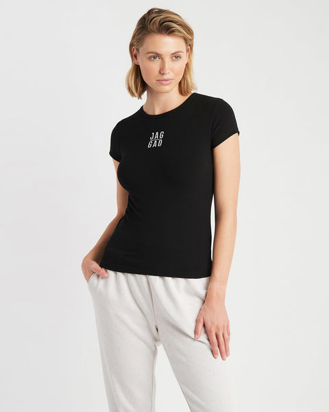 Cairo Fitted Rib Tee