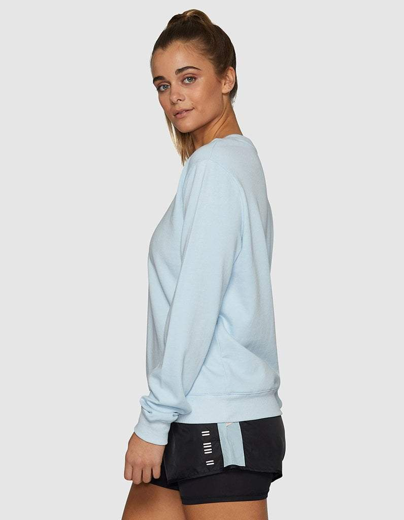 Classic Pastel Blue Sweater
