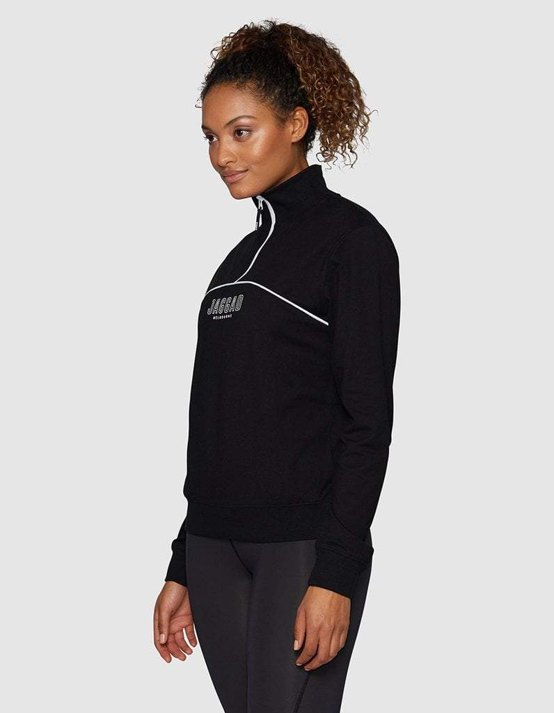 Fielding Zip Up Long Sleeve Top