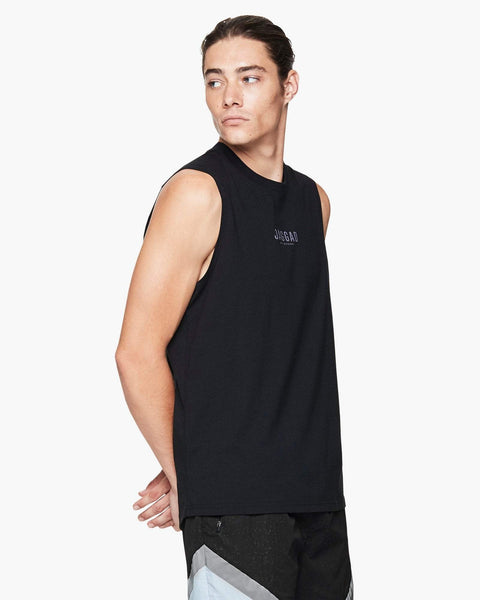 Jaggad Black Muscle Tank