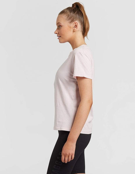 Jaggad Chalk Pink Slim Fit Tee