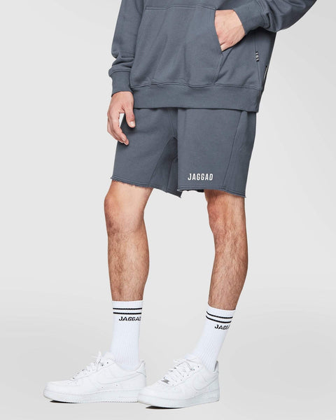 Jaggad Charcoal Fleece Shorts