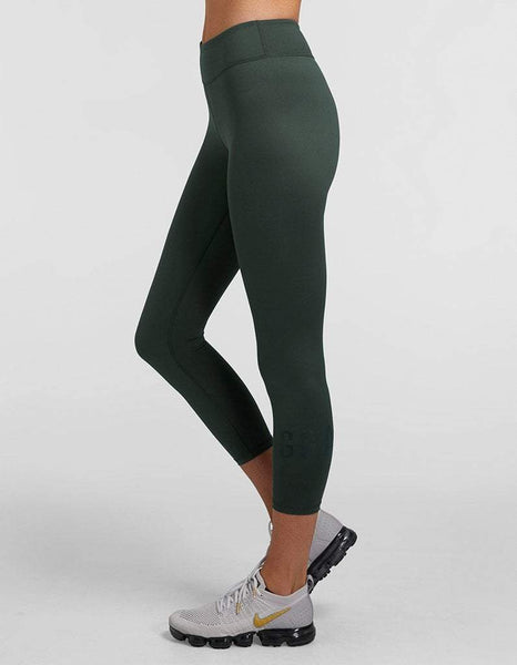 Jaggad Cool Khaki Classic 7/8 Leggings