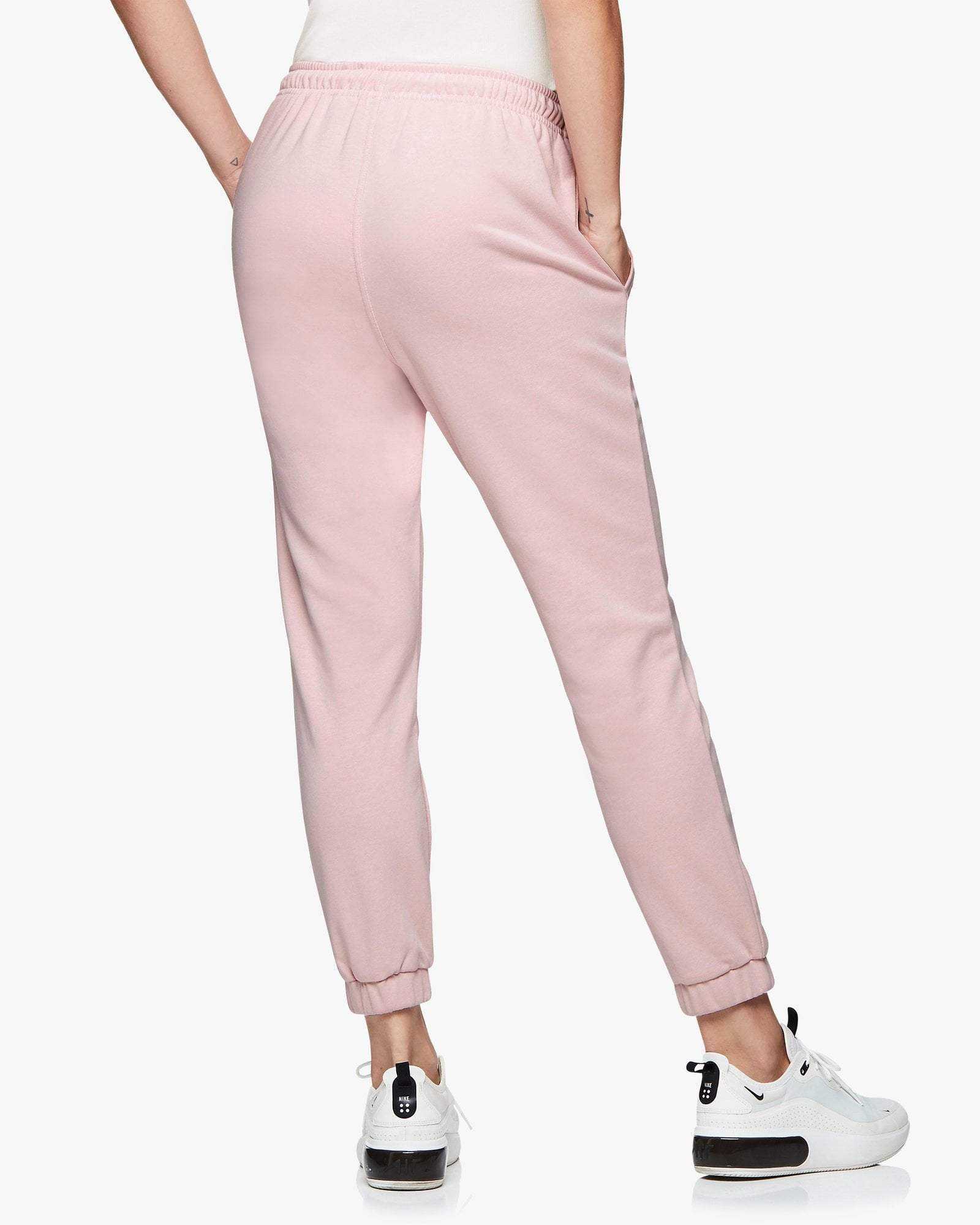 Jaggad Dusty Pink Core Trackpants