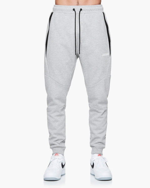Jaggad Grey Scuba Fleece Trackpants