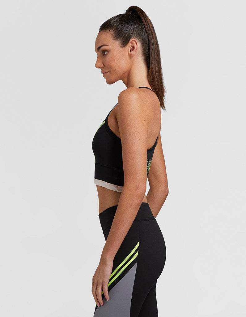 Jaggad Kansas Long Line Crop Top